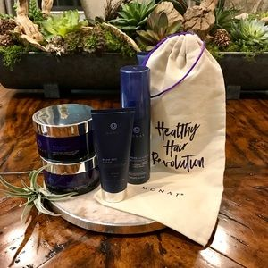 Monat Masque, Leave In Conditioner & Blow Out NWT